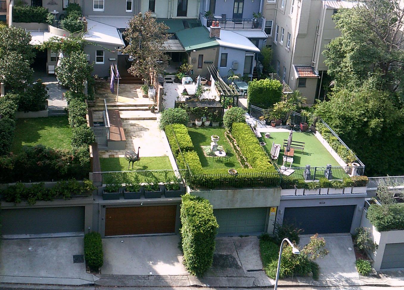 Dachgarten | Garten Straten